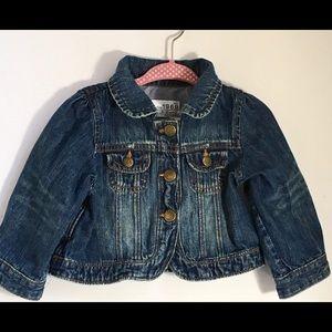 Baby Gap Denim Jacket 1969 Made with Love 6-12 mos